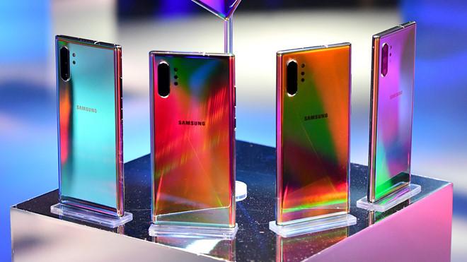 Những smartphone có màu sắc ấn tượng nhất năm 2019