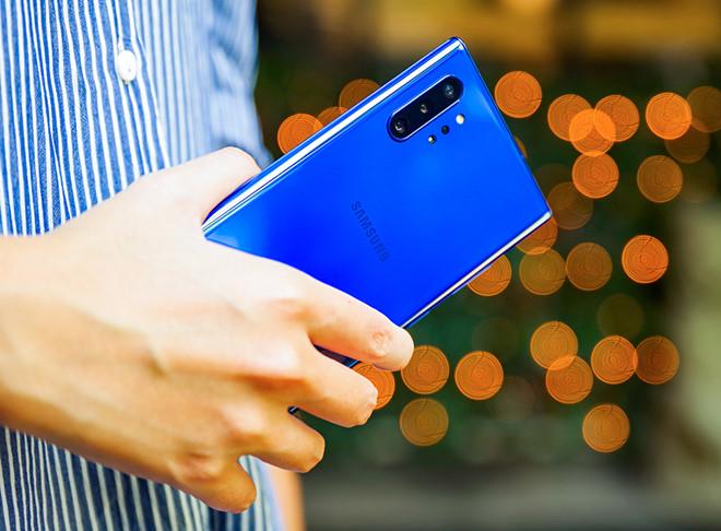 Galaxy Note10+ Aura Blue là xu hướng màu sắc mới của Samsung.