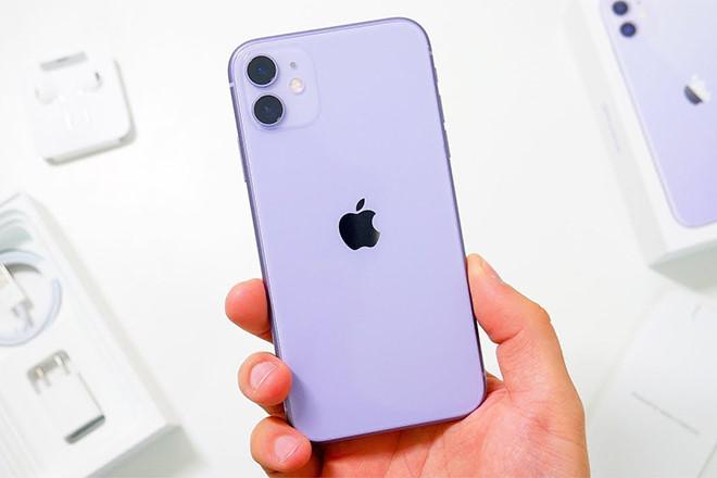Màu tím nhạt được xem là độc đáo nhất từ trước đến nay trên iPhone.