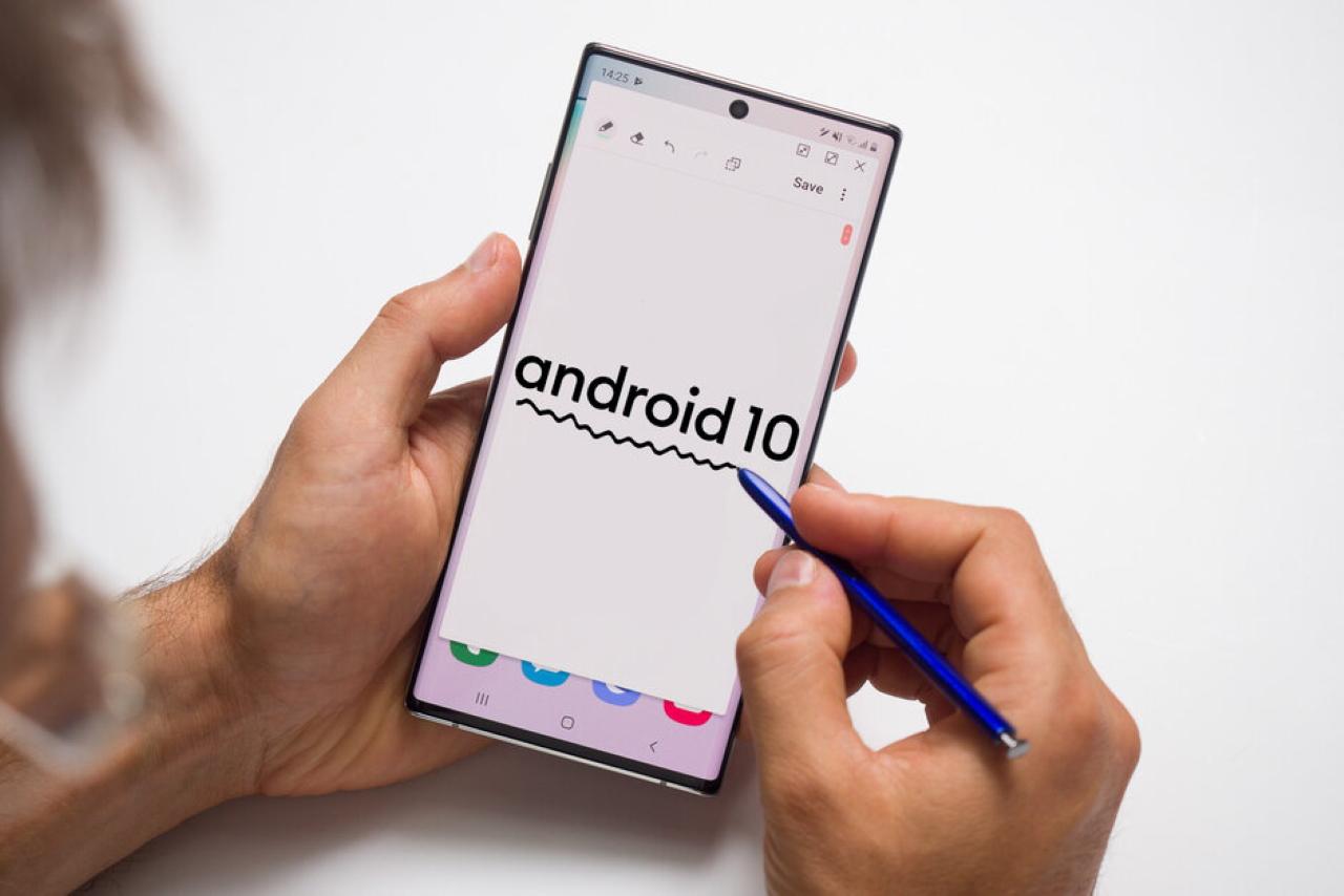 Người dùng Samsung Galaxy Note 10/10+ tại Đức bất ngờ nhận được bản cập nhật Android 10.