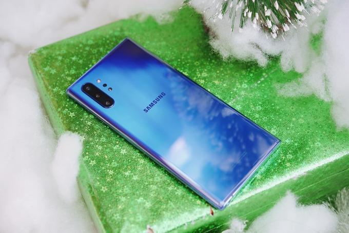 Galaxy Note 10 Aura Blue