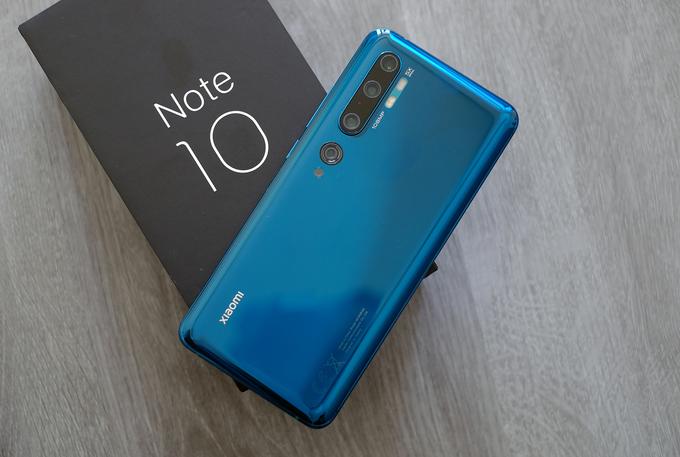 Việt Nam sẽ là một trong những thị trường bán Mi Note 10 giữa tháng này