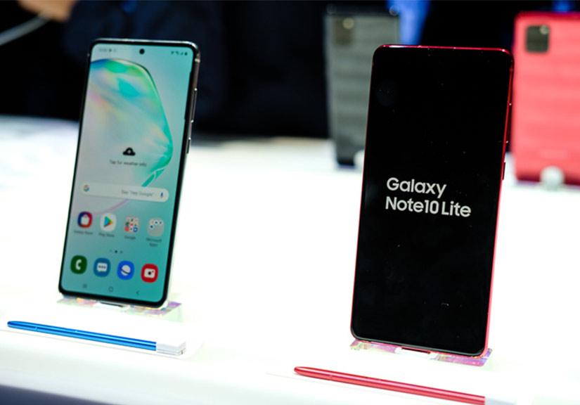 Bộ đôi Galaxy S10, Note10 Lite sắp bán ở Việt Nam