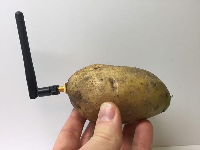 Củ khoai tây thông minh, trò đùa của Nicolas Baldeck tại CES 2020