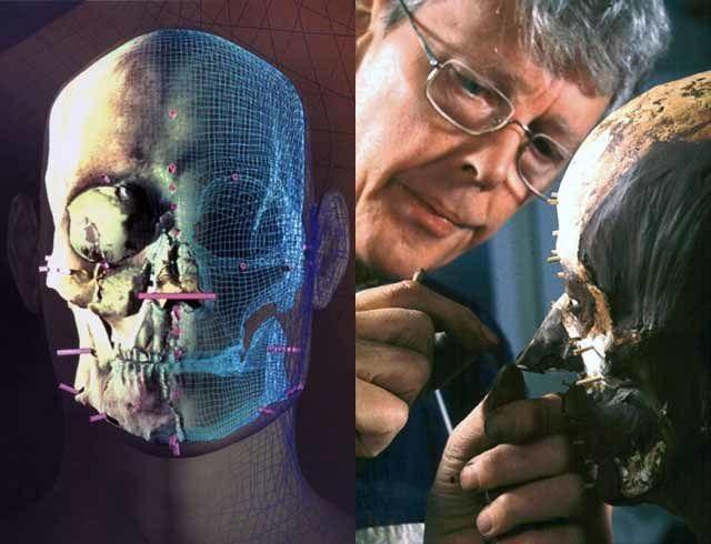 Nhóm nghiên cứu tạo ra khuôn mặt từ hộp sọ được tìm thấy của người Semite.