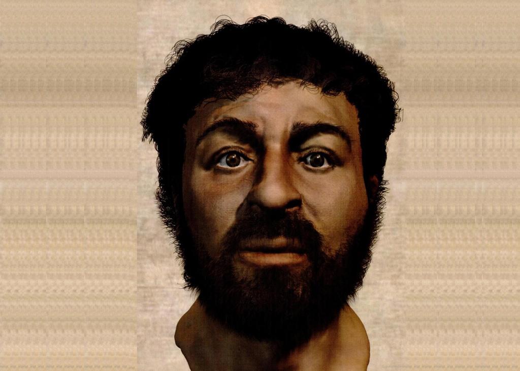 Khuôn mặt của Chúa Jesus được nhóm nghiên cứu của Neave tạo ra.