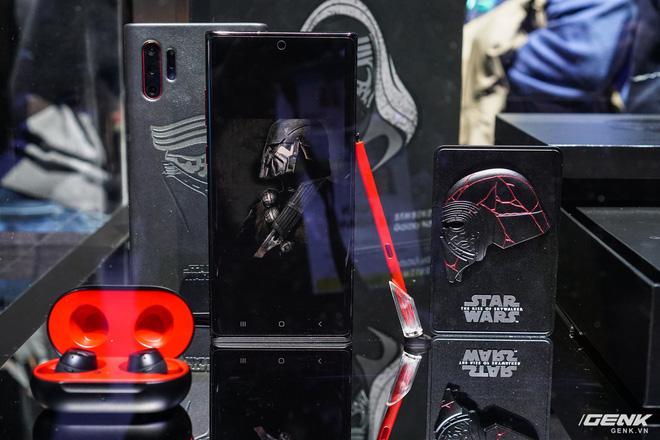 [CES 2020] Cận cảnh Galaxy Note10+ phiên bản đặc biệt dành riêng cho fan Star Wars - Ảnh 3.