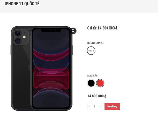 Bộ ba iPhone 11 hàng qua sử dụng liên tục giảm giá trong những ngày gần Tết