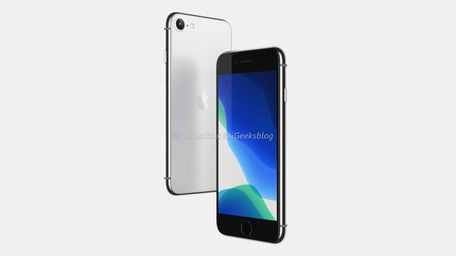 iPhone SE 2 (iPhone 9) lộ ảnh render: Thiết kế giống iPhone 8, mặt lưng kính nhám - Ảnh 3.