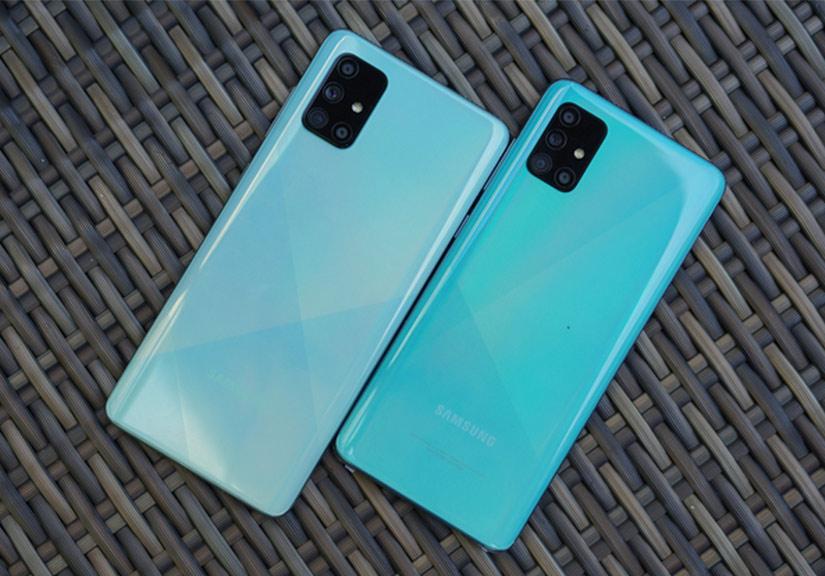 Samsung ra smartphone 64 megapixel đầu tiên