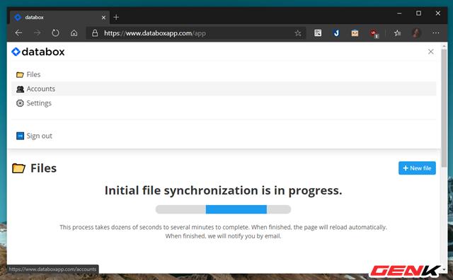 Quản lý cùng lúc nhiều tài khoản Google Drive với Databox - Ảnh 6.
