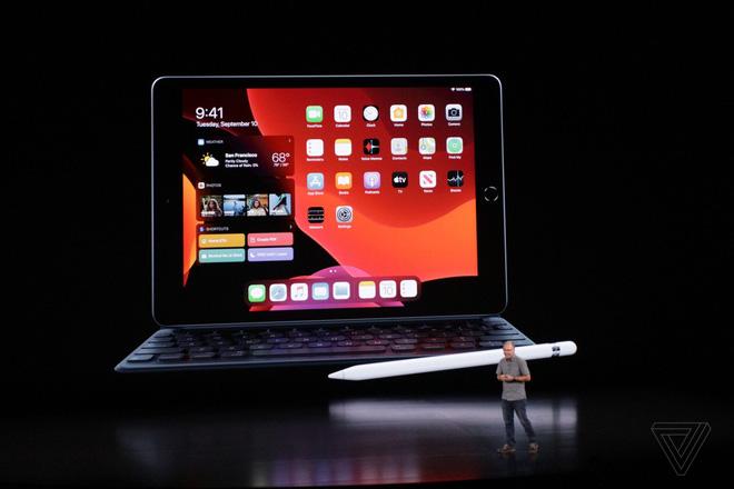 Apple ra mắt iPad 10.2 inch mới, thay thế cho dòng iPad 9.7 inch, giữ nguyên giá 329 USD - Ảnh 1.