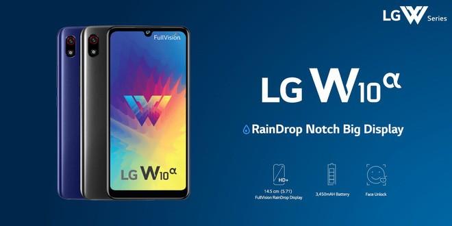 LG W10 Alpha ra mắt: Màn hình 5.71 inch, RAM 3GB, pin 3450mAh, giá từ 2.9 triệu đồng - Ảnh 1.
