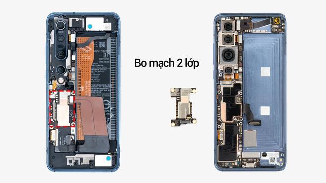 Mổ bụng Xiaomi Mi 10 Pro: Thiết kế đỉnh cao bên trong một mẫu flagship có giá chỉ từ 16 triệu đồng - Ảnh 3.