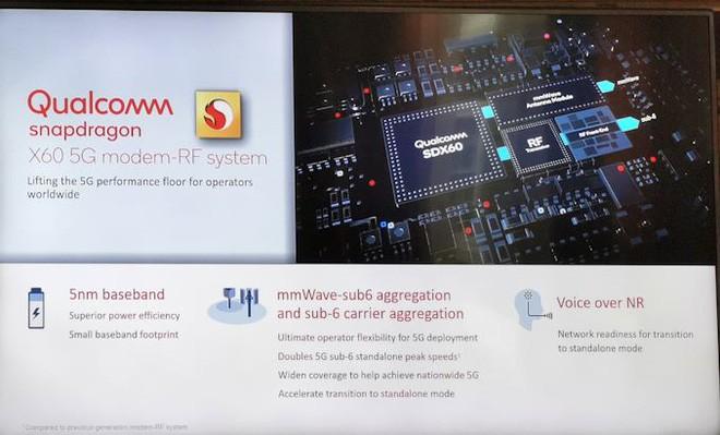 Modem 5G Snapdragon X60 thế hệ 3 mới nhất của Qualcomm được sản xuất trên quy trình 5nm - Ảnh 5.