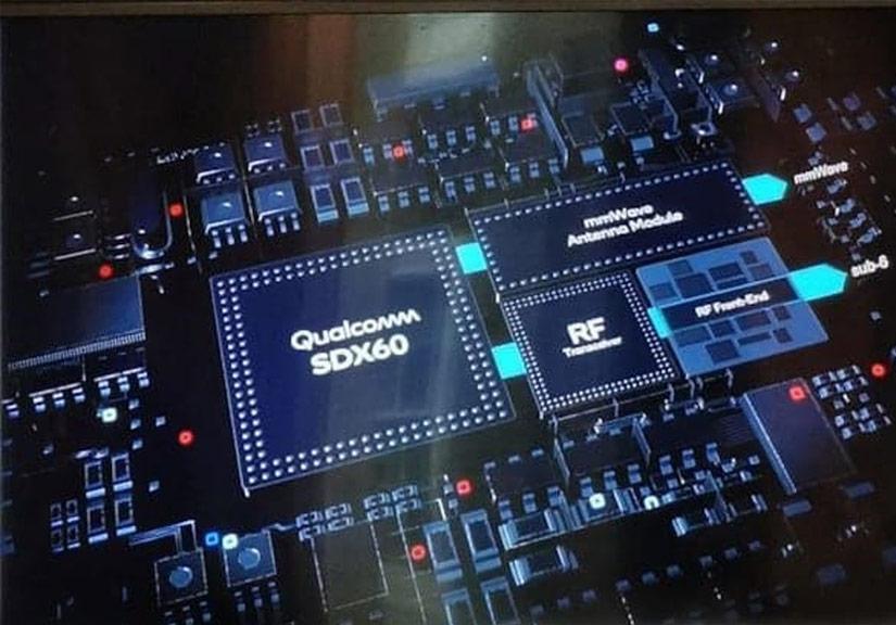 Modem 5G Snapdragon X60 thế hệ 3 mới nhất của Qualcomm được sản xuất trên quy trình 5nm