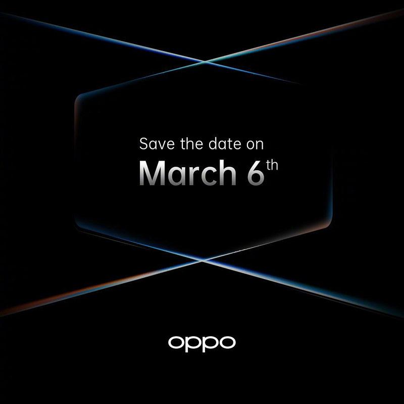 Oppo sẽ trình làng Find X2 vào ngày 6/3 tới đây