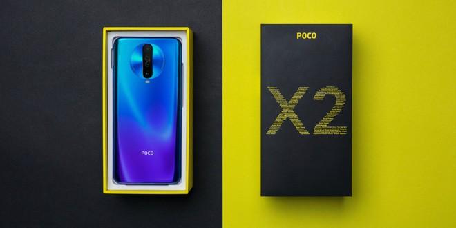 POCO X2 chính thức ra mắt: Màn hình 120Hz, chip SD 730G, RAM 8GB, pin 4.500 mAh, giá bán từ 225 USD - Ảnh 1.