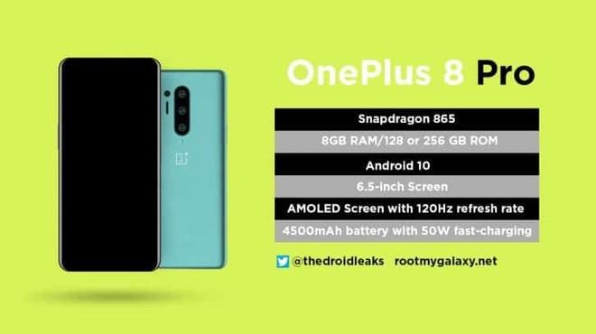 OnePlus 8 Pro lộ diện: Thiết kế thay đổi, xác nhận màn hình 120Hz - Ảnh 2.