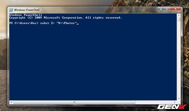 Hô biến thư mục thành ổ đĩa ảo trên Windows 10 - Ảnh 3.