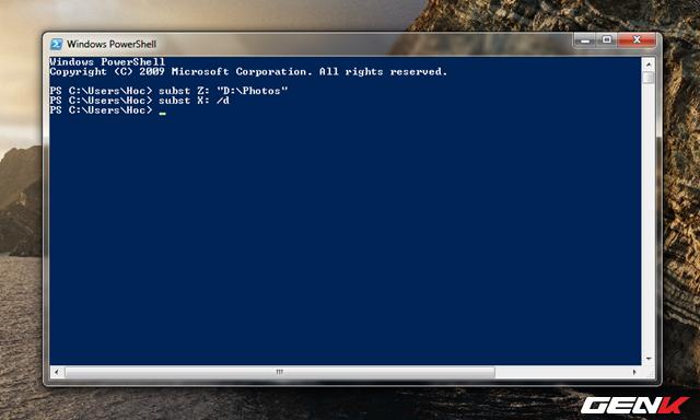 Hô biến thư mục thành ổ đĩa ảo trên Windows 10 - Ảnh 5.