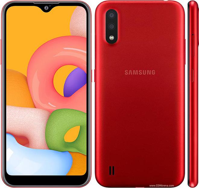 Hướng đến người dùng lần đầu dùng smartphone, Samsung giới thiệu Galaxy A01 - Ảnh 1.
