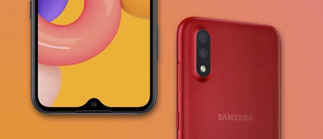 Samsung Galaxy A01 ra mắt Việt Nam: Mỏng thiết kế, mạnh hiệu năng, giá 2.8 triệu