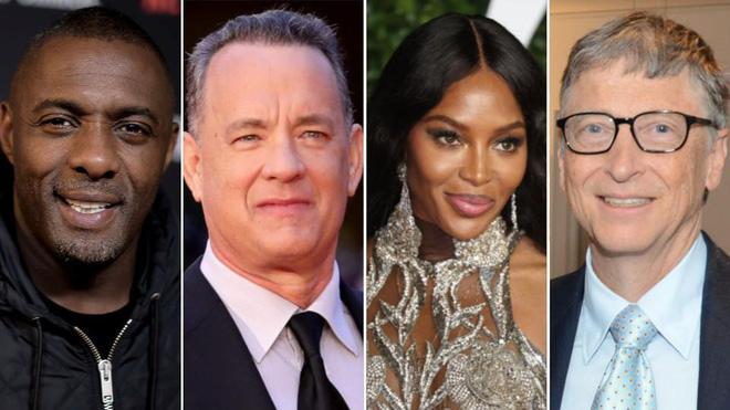 Idris Elba, Tom Hanks, những diễn viên nổi tiếng bị nhiễm virus corona.