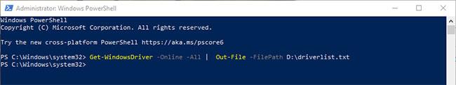 Bạn có thể sử dụng lệnh để tự động lưu đầu ra PowerShell vào file văn bản