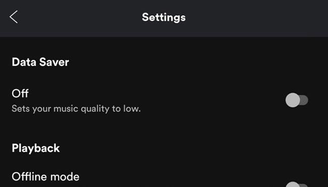 Spotify có chế độ Data Saver tích hợp