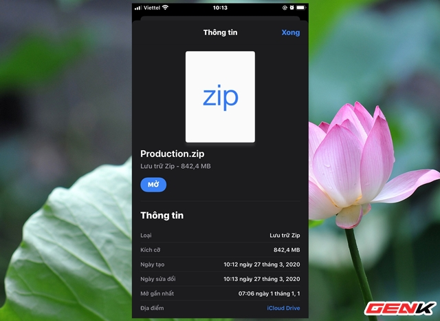 Nén và xả nén dữ liệu trực tiếp trên iPhone để giảm dung lượng lưu trữ dữ liệu - Ảnh 7.
