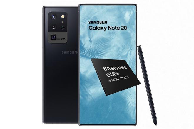 Samsung tiết lộ một nâng cấp ấn tượng của Galaxy Note 20 so với Galaxy S20 Ultra - Ảnh 1.