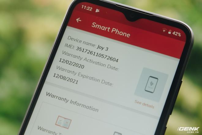 Điện thoại Vsmart có thời hạn bảo hành lên tới 18 tháng