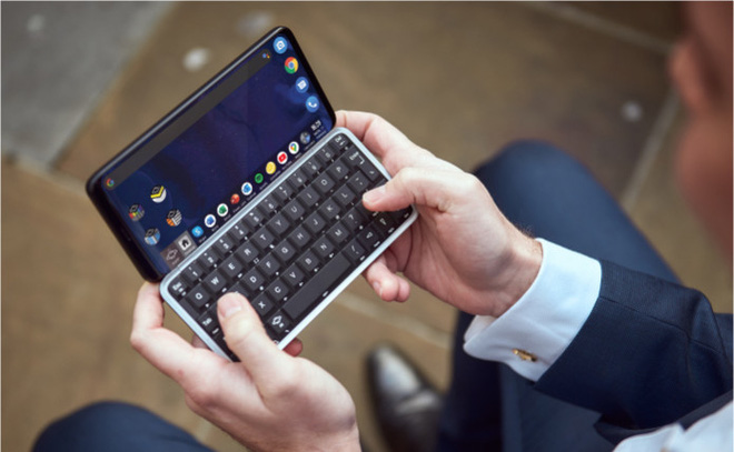 Astro Slide, smartphone bàn phím trượt chạy cả Android và Linux, sóng 5G