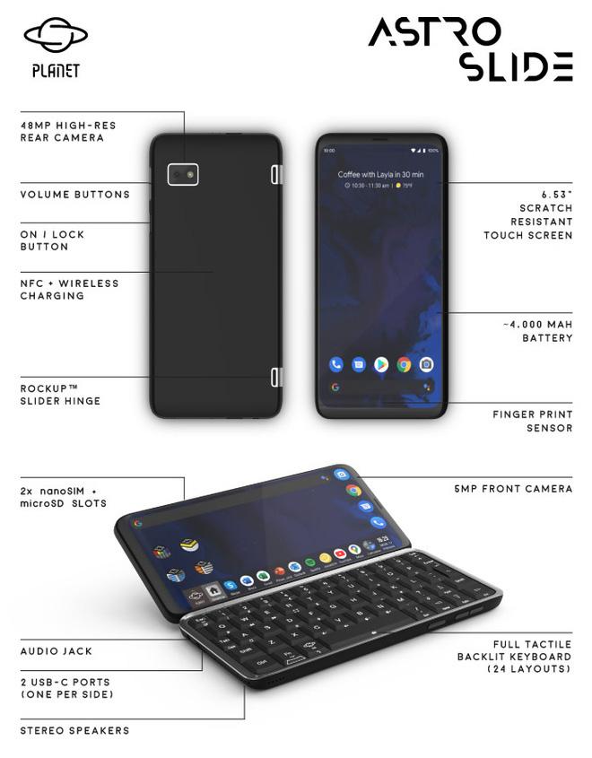 2020 rồi vẫn có smartphone dùng bàn phím trượt, gọi vốn 10 ngày được 19 tỷ, chạy Android 10 và Linux, 5G nhanh nhất thế giới, giá từ 12 triệu - Ảnh 4.