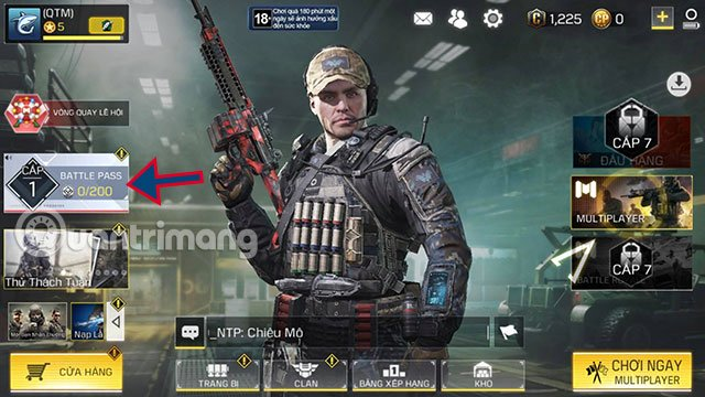 up rank call of duty mobile