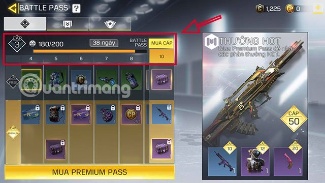 rank battle pass call of duty mobile