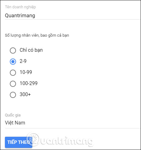 Cách đăng ký G Suite để dùng Google Meet