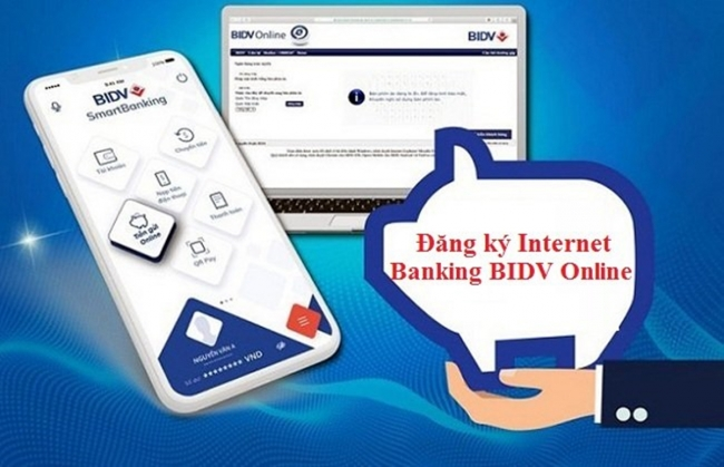 Cách đăng ký internet banking BIDV online qua website