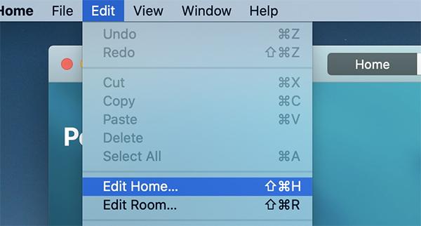 Cách đổi hình nền ứng dụng Home trên Mac - itctoday
