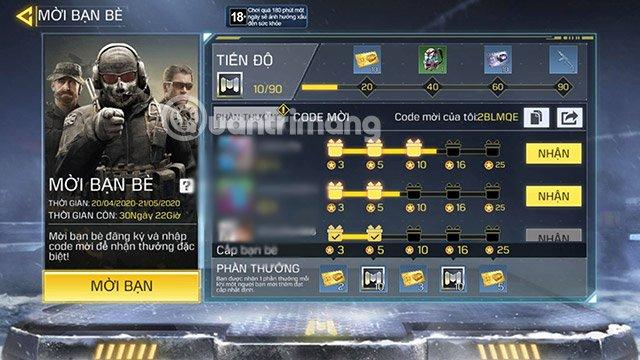 Cách dùng vé để đổi thưởng Call of Duty Mobile VNG