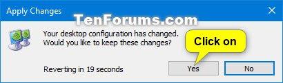 Cách loại bỏ màn hình khỏi desktop trong Windows 10 - itctoday