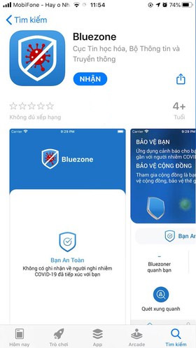 app bluezone