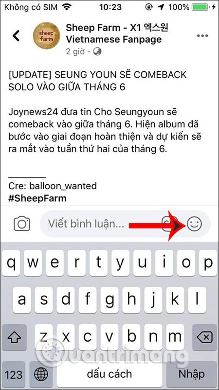 Bình luận Facebook