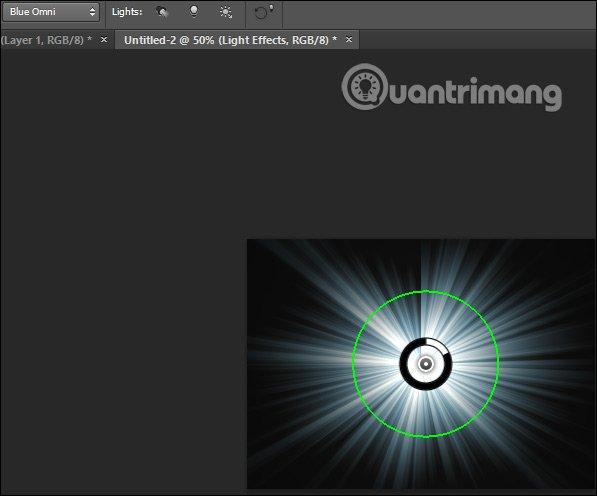 Cách tạo hiệu ứng chùm sáng trong Photoshop - itctoday