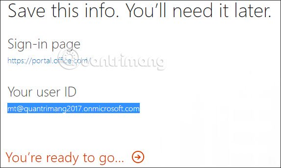 Tạo tàu khoản Office 365 Education miễn phí