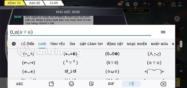 viết ký tự đặc biệt call of duty mobile vng