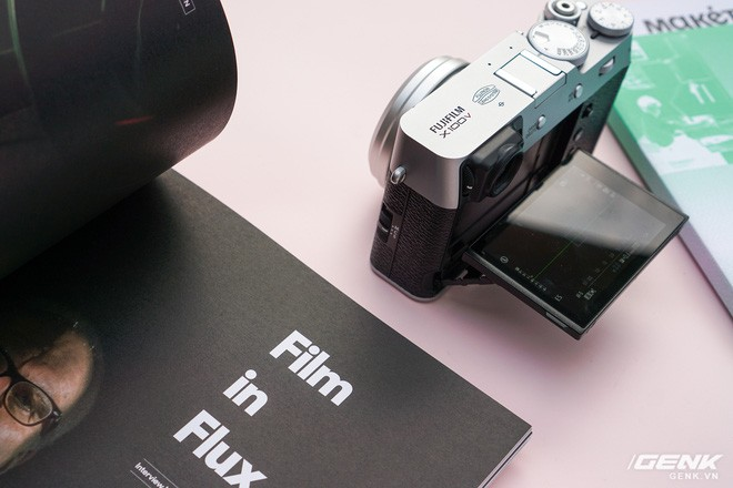 Cận cảnh Fujifilm X100V: Cảm biến 26.1MP X-Trans BSI CMOS thế hệ 4, ống kính 23mm f/2.0 mới, màn hình đã có thể xoay lật 2 hướng - Ảnh 5.