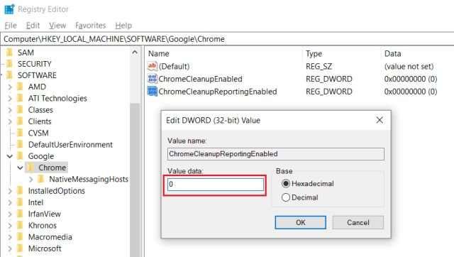 Cách vô hiệu hóa Chrome Software Reporter Tool - itctoday
