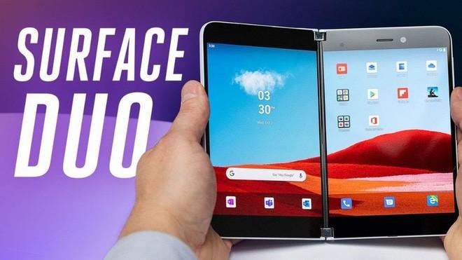 Đây là cách các ứng dụng sẽ hoạt động trên chiếc smartphone Android đầu tiên Surface Duo của Microsoft - Ảnh 1.